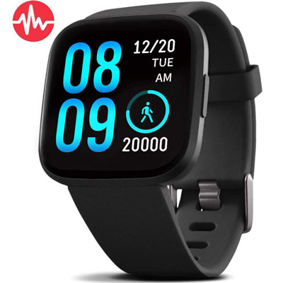 FITVII Fitness and Health Calorie Counter Smart Watch