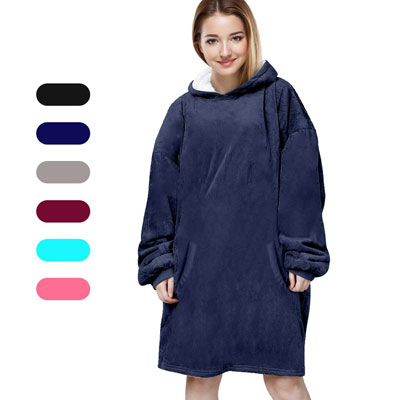 Felicigeely Oversized Hoodie Wearable Blanket