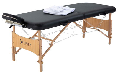 1. Sierra Comfort All Inclusive Portable Massage Table
