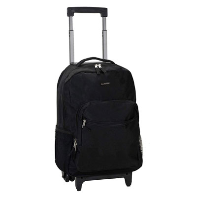 2. Rockland 17 Inch Medium Rolling Backpack