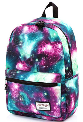 1. HotStyle TRENDYMAX Galaxy Backpack for School Girls & Boys