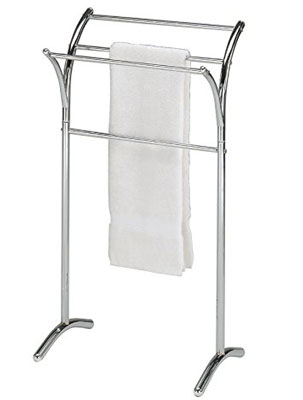 6. eHomeProducts Stand Self Chrome Towel Rack