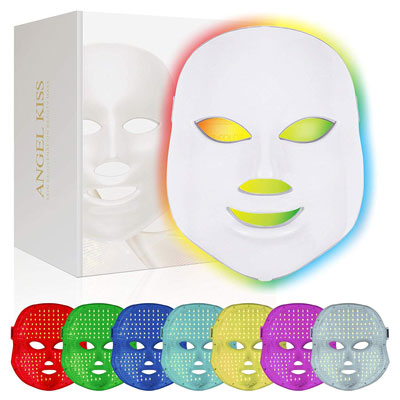 Angel Kiss Therapy Skincare Rejuvenation Facial LED Light Photon Mask