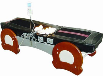 5. Jade Far Infrared Spinal Traction Decompression Massage Bed