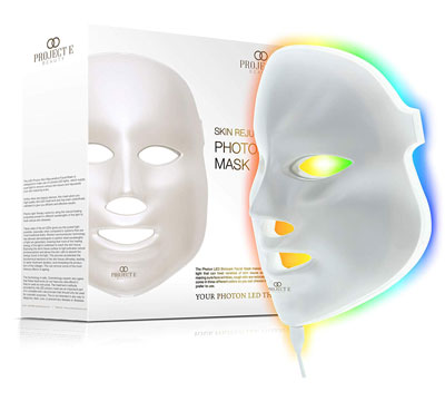 Project E Beauty LED Mask 7-Color Photon Light Rejuvenation LED Therapy Facial Mask