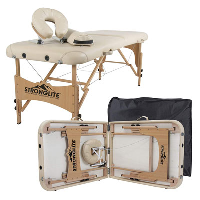 4. STRONGLITE 28x73 Portable Massage Table