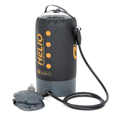 5. Nemo Helio Portable Pressure Shower with Foot Pump