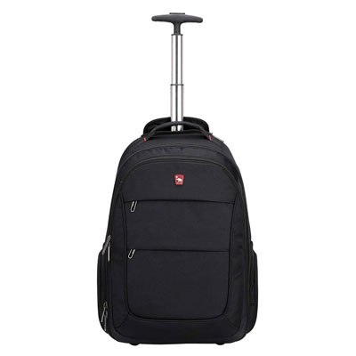 7. OIWAS Rolling Backpack with Wheels for Women Men