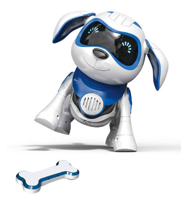 7. Yeezee Wireless Magent Bone Interactive Little Robot Puppy Remote Dog Toy