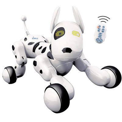 4. Dimple Interactive Wireless Remote RC Control Robot Puppy Dog Toy