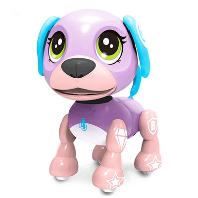 6. SoundOriginal Electronic Pet Dog Popular Interactive Puppy Intelligent Pocket Toy