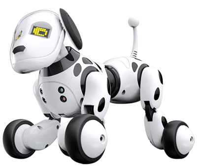 9. Zaote Robot Dog Intelligent Wireless Remote Smart Control Toy Electronic Pet