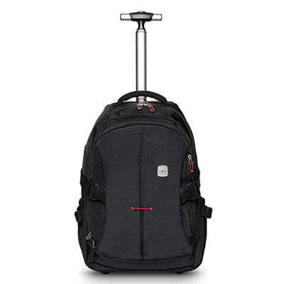 8. SKYMOVE 19 inches Wheeled Rolling Backpack