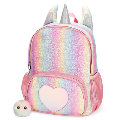 7. Mibasies Kids Unicorn Backpack for Girls