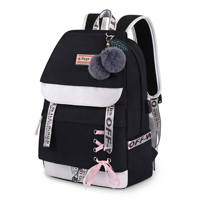 8. Asge Backpack for Girls Kids Bookbag Women Casual Daypack