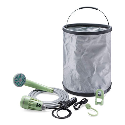 9. Spy Tec Portable Camping Shower for Outdoor Activities