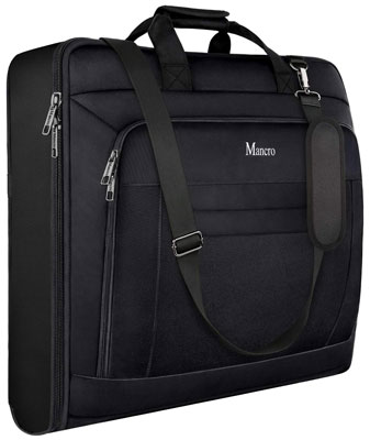 8. Mancro Carry On Garment Bag for Travel Business Trips