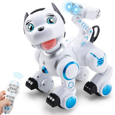 5. SGILE Robot RC Toy Interactive Intelligent Dance Programmable Dog