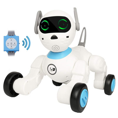 10. Dnine Smart Controlled Game Robot Cute Intelligent Dog Billy Toy Pet
