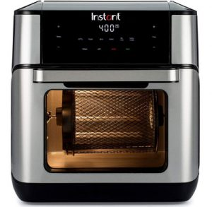 9. Instant Pot 7-in-1 Air Fryer, Toaster Oven, and Rotisserie Oven