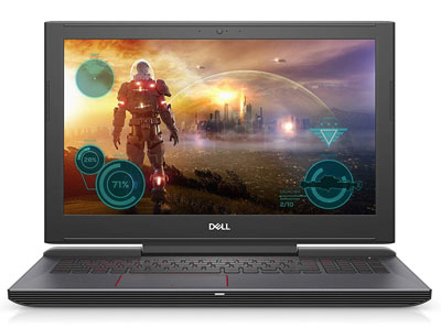 4. Dell 8th Gen LED NVIDIA GeForce Anti-Glare Display Licorice Gaming Laptop