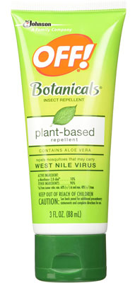 6. Off! Botanical Lotion, Insect Repellent