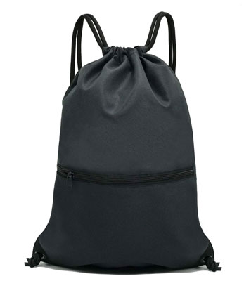 4. HolyLuck Drawstring Backpack or Bag