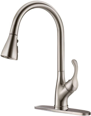 5. APPASO Stainless Steel Kitchen Faucet