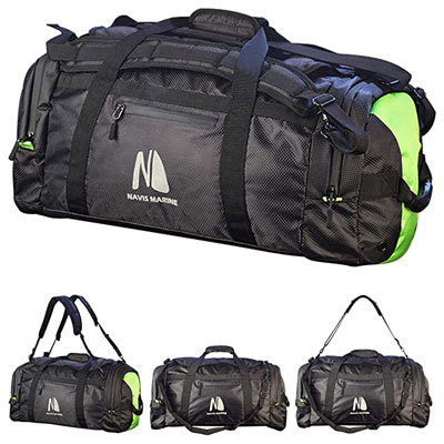 5. Navis Marine Duffel Dry Bag for Sailing and Boating