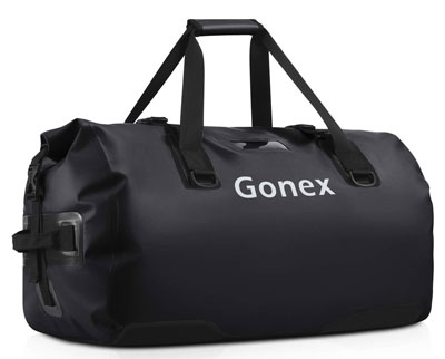 4. Gonex Waterproof Duffel Bag, 40L, 60L, 80L