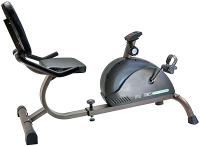 7. PHEONIX Magnetic Recumbent Bike for Daily Fitness