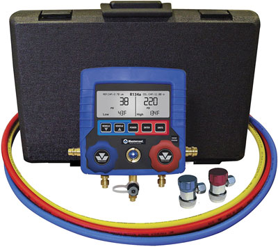 8. MASTERCOOL 99872-A R134a Digital HVAC Gauge