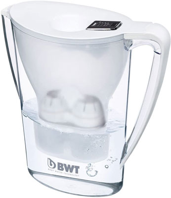 10. BWT 2.7 Litre White Mineralised Water Jug