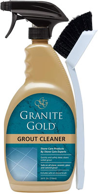 9. Granite Gold Grout Cleaner And Scrub Brush - 24 Ounces