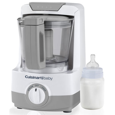 3. Cuisinart Baby Food Maker and Bottle Warmer (BFM-1000)