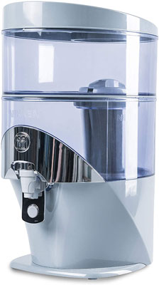 9. Nikken 1384 1 Waterfall Gravity Water Filter Purifier System