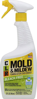 4. CLR Mold & Mildew Stain Remover, 32 Ounce