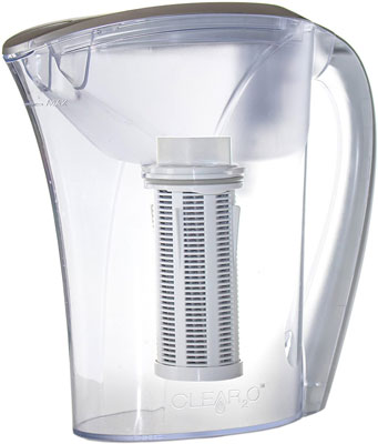 7. Clear2o 48oz Advanced Gravity Water Filter Pitcher (GRP200)