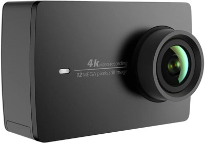 1. YI Black 4K Action and Sports Camera