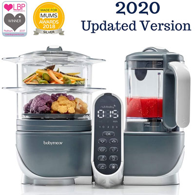 7. Babymoov 6 in 1 Duo Meal Station Food Maker