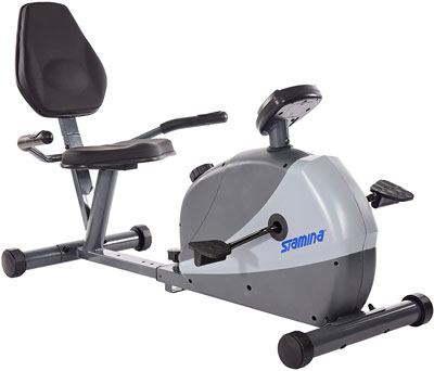 4. Stamina Magnetic Resistance Recumbent Bike for Exercise