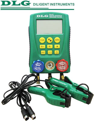 9. DLG DI-517 Digital Manifold Gauge