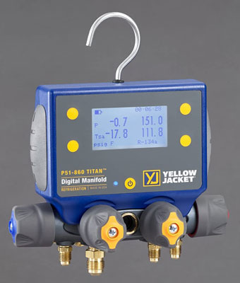 6. Yellow Jacket P51-860 Digital HVAC Gauge