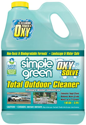 8. Simple Green Oxy Solve Total Outdoor Cleaner - 1 Gal
