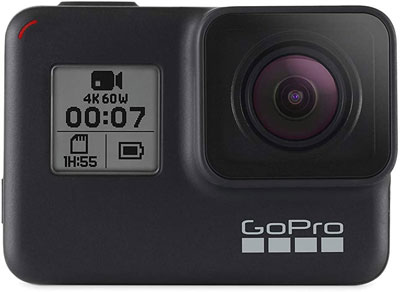 7. Amazon Renewed GoPro HERO7 Waterproof Digital Action Camera