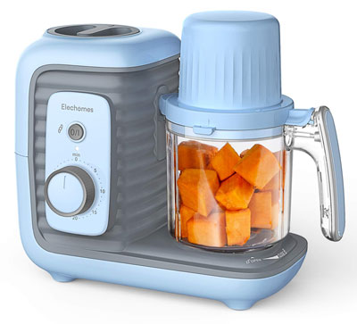 4. Elechomes 8 in 1 FDA Approved Baby Food Maker