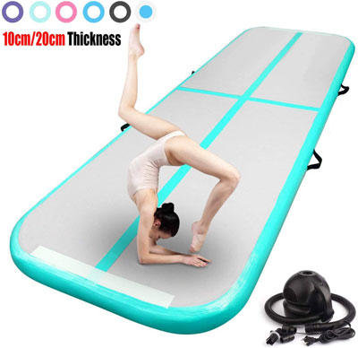 4. FBSPORT Inflatable Tumbling Mat