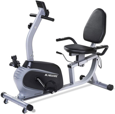 5. MAXKARE Recumbent Cycling Bike for Indoor Exercise