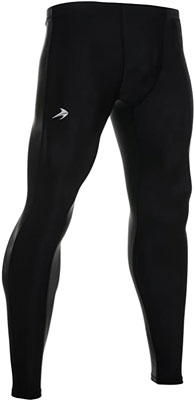 3. CompressionZ Men's Compression Pants Baselayer Running Tights