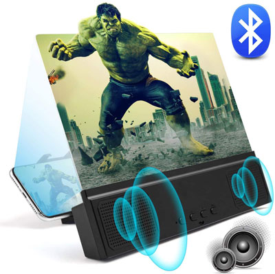 6. WILEVLA 3D Phone Screen Magnifier